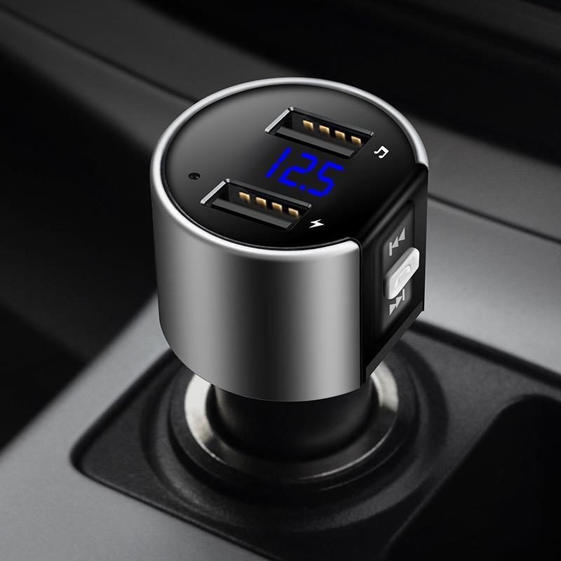 Urbanroad Auto USB Mp3 Bluetooth Auto Lettore Trasmettitore Fm Aux Audio Senza Fili Kit Vivavoce Fm Modulatore 3.4A Caricatore Doppio del USB