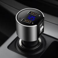 Urbanroad автомобиль USB Mp3 Bluetooth fm-передатчик Aux Беспроводной аудио плеер автомобильный комплект громкой связи fm-модулятор 3.4A Dual USB Зарядное устро...