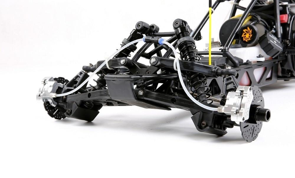 1/5 RC части автомобиля Baja спереди гидравлической тормозной системы для 1/5 масштаба HPI Baja 5B король мотор грузовик