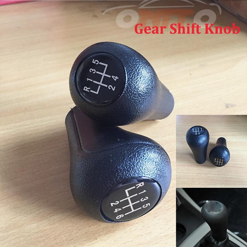 Wholesale 10pcs Plastic Black Car Gear Shift Knob 5/6 Speed Gear Head lever For BMW 1 3 5 6 7 All Series Auto Gear Shift Knob cool skull style resin car gear shift knob blue