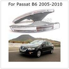 цена на Car Front Bumper Turn Signal Lights Without Bulbs for VW Passat 3C B6 2005 2006 2007 2008 2009 2010 Clear Lens