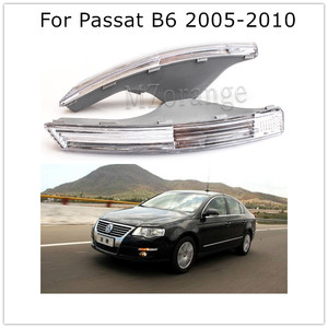 Car Front Bumper Turn Signal Lights Without Bulbs for VW Passat B6 3C 2005 2006 2007 2008 2009 2010 for Volkswagen Magotan