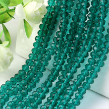 Green Zircon semilla de cristal checo Glass 4mm 6mm 8mm 10mm Sewing On Glass beads for jewelry making