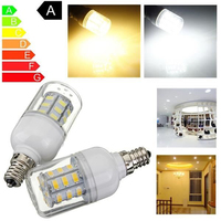 10Pcs Constant Current LED E12 4W 27SMD 5730 LED 85V 265V Corn Lamp Light Wide Voltage Bulb Home Bright