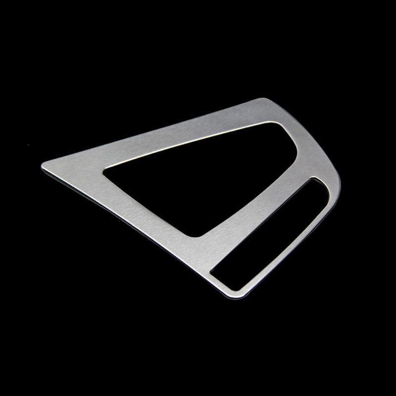 Untuk BMW 3 Series F30 F31 F34 320i 320Li 328 2013-2017 ABS Chrome Kereta Gear Shift Lever Knob Panel Cover Trim Accessories
