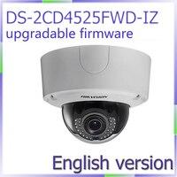 Darmowa wysyłka English Version DS-2CD4525FWD-IZ 2MP Inteligentny Lightfighter Ultra WDR Kamera IP Kamera Zewnętrzna
