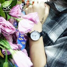 Shengke Brand Women Quartz Wrist watches Women's Quartz-watch Casual Fashion Clock Womens Watches Ladies Wristwatch Montre Femme