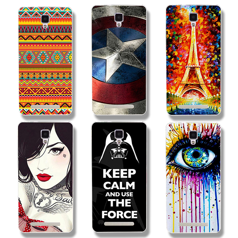AKABEILA Case For Doogee X10 Case Silicone Soft TPU Case For Doogee X10 Cover Patterned Anti-Knock Ship From RU Warehouse
