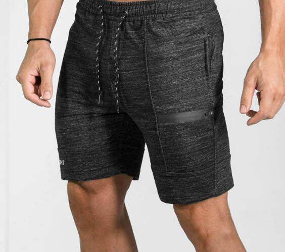 ZOGAA Mens Shorts Casual Brand Gyms Fitness Bodybuilding Shorts Men Joggers Workout Clothes Loose Knee Length Men Sweat Shorts