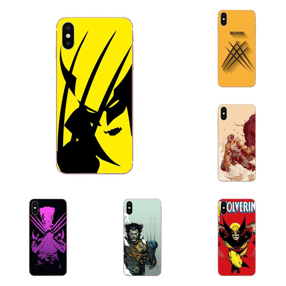 Comics X-men Wolverine Soft Silicone TPU Transparent Retail New Fashion For LG Nexus 5 5X V10 V20 V30 V40 2017 2018 2019 image