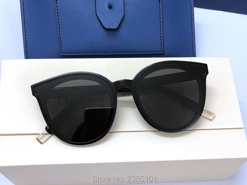 Fashion Korea Vintage Sunglasses Black peter Retro Round Sun Glasses For Men Womens gentle Brand Designer