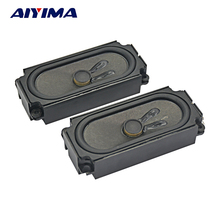AIYIMA 2Pcs Mini Portable Audio Speakers 10045 8Ohm 10W LCD TV Speaker DIY For Home Theater