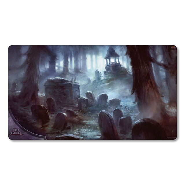 Haunted Fengraf Magic Board Games Nicol Bolas mgt tcg Play Mat cards Gather Big table Mousepad pad Playmats with storage bag