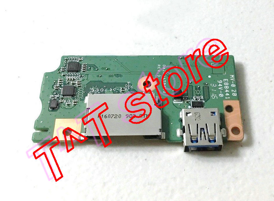 original for ACER CB3 CB3-532 USB SD CARD READER BOARD DAZRUATB6D0 test good free shipping ssk scrm 060 multi in one usb 2 0 card reader for sd ms micro sd tf white