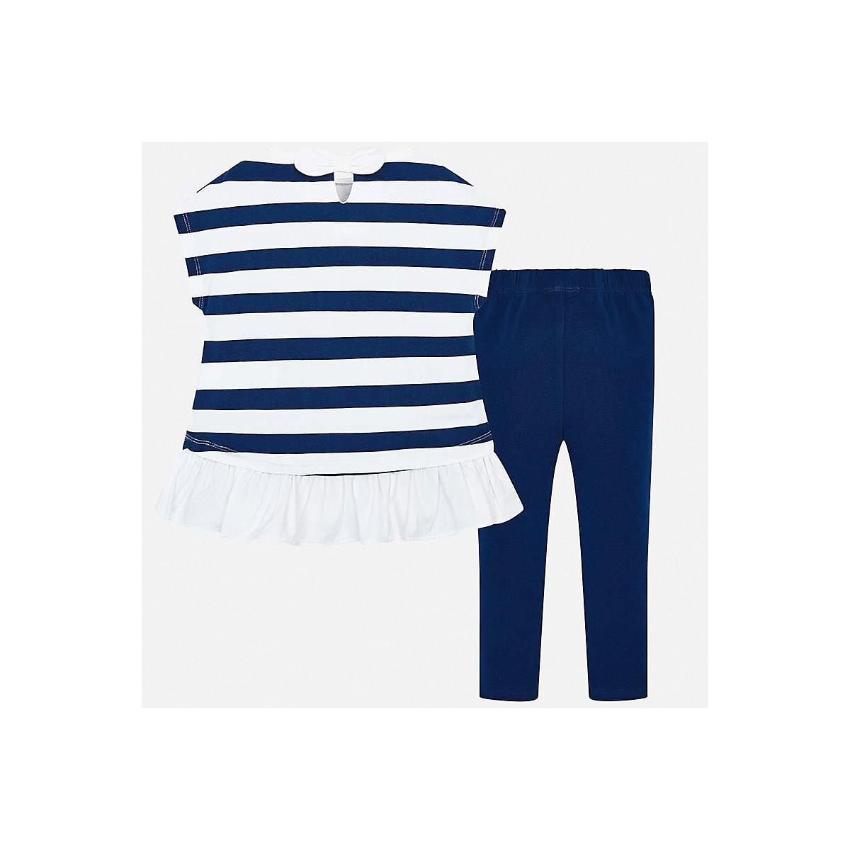 Conjuntos de niños MAYORAL 10687134 conjunto de ropa para niños pantalones camiseta piernas camisa pantalones cortos niñas y niños - 3