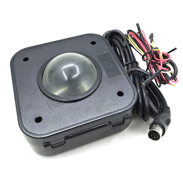 US $19 99 |Arcade Game track ball 4 5CM Illuminated LED Trackball mouse  PS/2 PCB connector for arcade game machines-in Coin Operated Games from  Sports