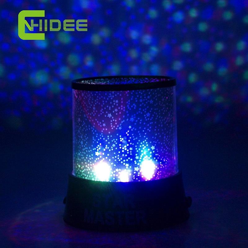 CNHIDEE Magic 4 LED Sky Starry Star Night Light Lamp ...