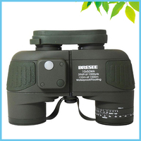 High Definition Binoculars 7X50 Waterproof Fogproof Nitrogen filled Binocular Telescope BAK4 Green Coating Binoculars for Hiking