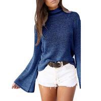 여성 스웨터 매력 중공 다시 구멍 스트랩 스웨터