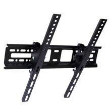 Универсальные настенные кронштейны для ЖК-телевизора, Led, 30 кг, сталь, 400X400 мм, 15 °, наклонное настенное крепление для монитора 32, 46, 42, 50, 55 дюймов