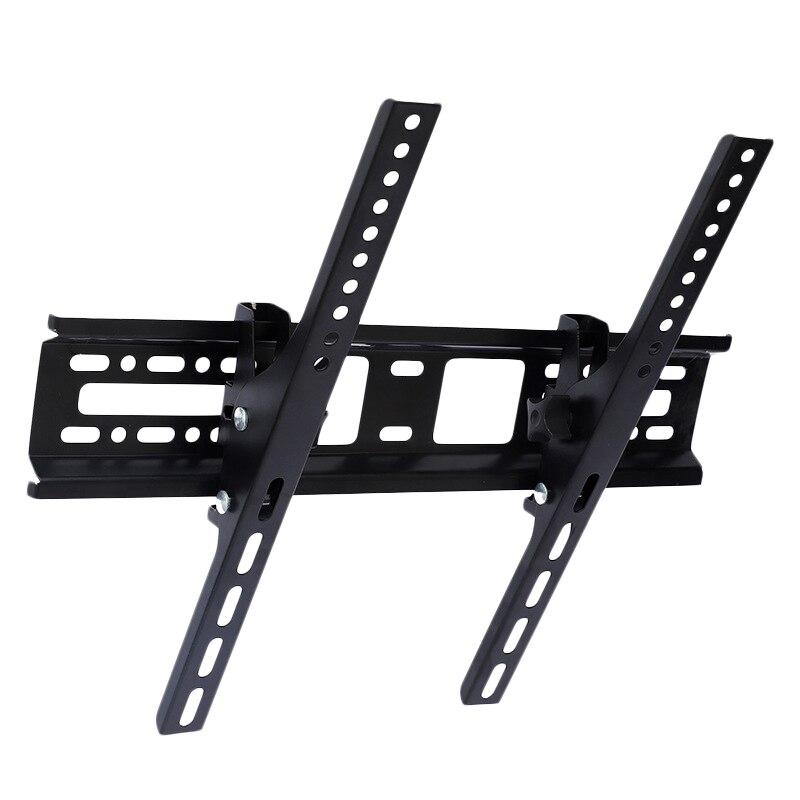 Soporte Universal de pared de TV Led Lcd con bordes de acero de 30Kg 400x400mm 15 ° soporte de pared inclinable para Monitor de 32 46 42 50 55 pulgadas Tira de LED para iluminación trasera para LG 32