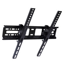 Universal Lcd Led Tv soportes de pared de 30Kg de acero 400X400 Mm 15 ° de montaje de pared de inclinación para 32 46 42 50 55 pulgadas(China)