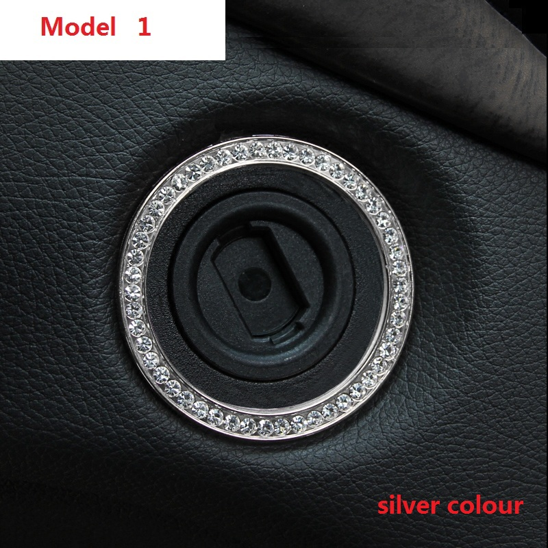 Car Ignition switch decoration ring For Mercedes Benz A / C/ E/ CLA/ GLK/ GLC/ GLA/ GLS/S / GL-class car style Mercedes-Benz CLA-класс