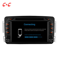 1024 600 Quad Core Android 5 1 1 Car DVD Player GPS For Benz W209 Vaneo