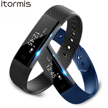 ITORMIS B2 SmartBand Smart Fitness Bracelet Wrist Band PK mi band 2 Sports Fitness Activity Tracker Pedometer for IOS Android