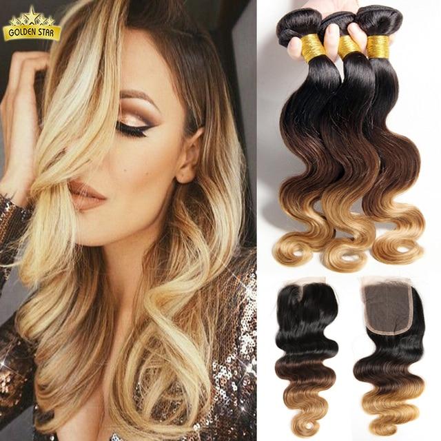 Blonde brazilian hair bundles with closure best blonde hair 2017 best 25 curly sew in ideas on hair pmusecretfo Choice Image