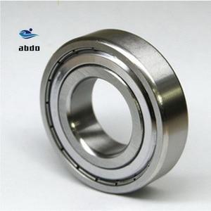 Image 1 - 10 adet/grup yüksek kalite ABEC 5 6203ZZ 6203Z 6203 ZZ TB6203ZZ 17x40x12mm Metal conta rulman korumalı sabit bilyalı rulman