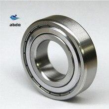 Rodamiento de sellado de Metal rodamiento blindado de rodamiento rígido de bolas, alta calidad, ABEC 5, 6203ZZ, 6203Z, 6203 ZZ, TB6203ZZ, 17x40x12mm, 10 unidades por lote