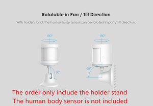Image 4 - Original Aqara human body sensor Base ,work with human body sensor  motion sensor For smart home