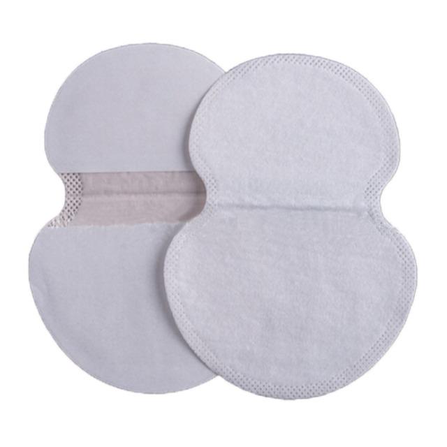 New 50pcs Underarm Dress Clothing Armpit care sweat scent perspiration Pad shield Absorbing deodorant Antiperspirant