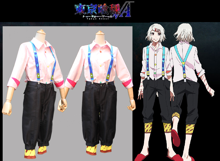 Tokyo ghouls cosplay JUZO SUZUYA / REI costumes Janpanese anime cos party dresses for women and man