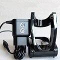 Original 2-Prong parede EU Plug AC Power Adapter para PHILIPS RQ1150 RQ1160 RQ1180 RQ1175 + suporte dobrável carregador adaptador