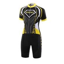 WOLFKEI облегающий велосипедный костюм Одежда Цельный купальник Ropa Ciclismo MTB Мужская одежда для велосепидистов Верхняя одежда# SK000122801