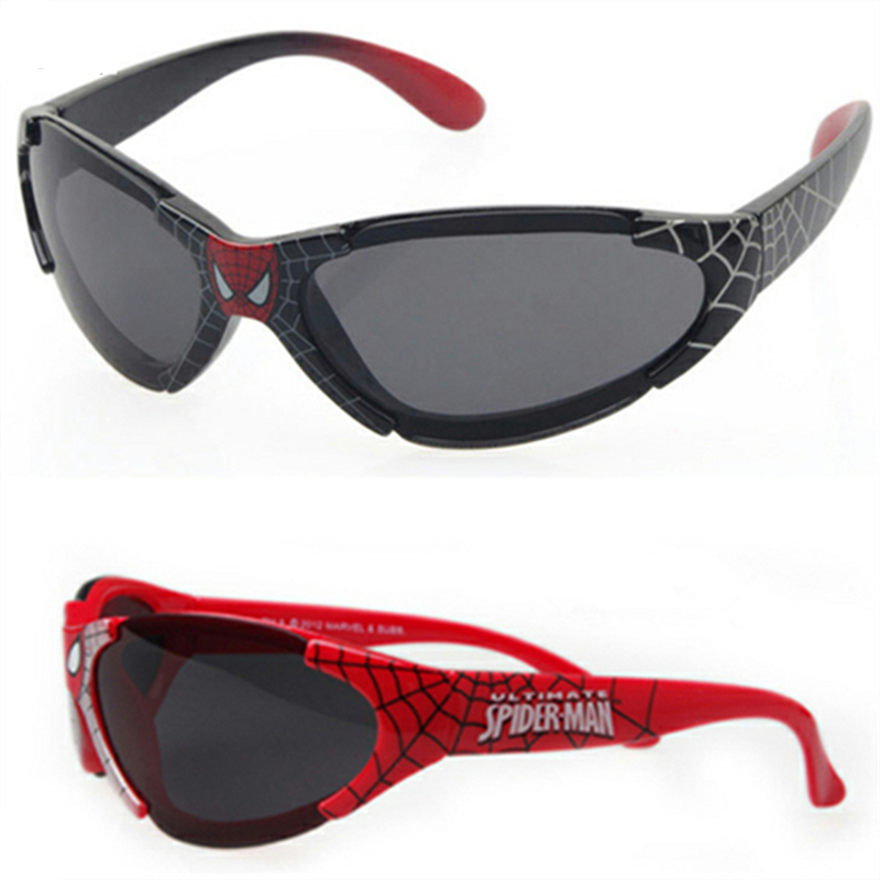 2019 Kids Boy Sunglasses Child Baby Safety Coating Fashion Spider-Man For Kid UV400 Eyewear Shades(China)