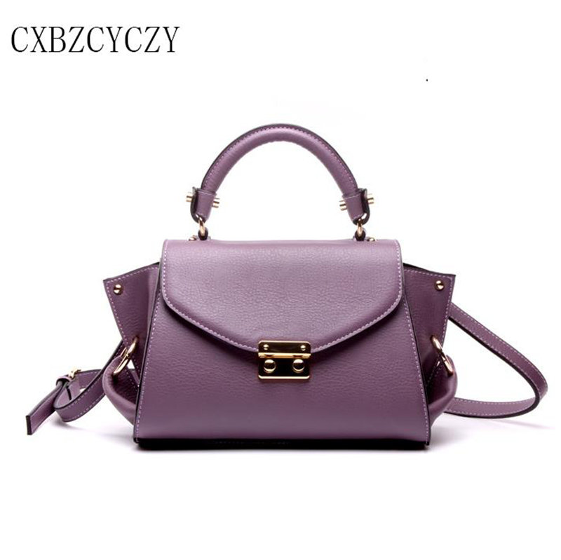 Women Cow Genuine Leather Handbags Trapeze Bag Fashion Ladies Famous Brand Luxury Shoulder Bags Women Messenger Bags Sac Marque handbags women trapeze bolsas femininas sac lovely monkey pendant star sequins embroidery pearls bags pink black shoulder bag