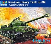 Пластиковая Модель Комплект Трубач 00316 1/35 Русский Тяжелый Танк ИС-3М
