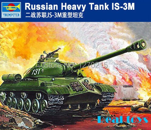 Plastic Model Kit Trumpeter 00316 1/35 Russian Heavy Tank IS 3M-in Model  Building Kits from Toys & Hobbies