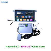 Aoluoya RAM2G Quad Core Android 6.0 CAR Radio DVD GPS Navigation For AUDI Q7 2005 2006 2007 2008 2009 AUDI A6L 2008-2011 WIFI 3G