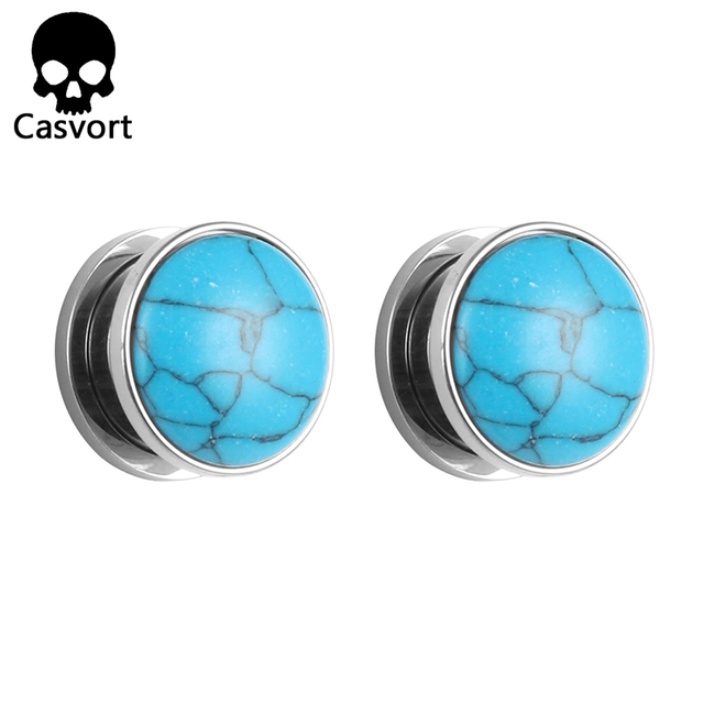 Casvort Screw Ear Gauges...
