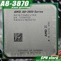Бесплатная доставка AMD A8 3870 К Четырехъядерных Процессоров FM1 3.0 ГГц 4 МБ 100 Вт процессор шт A8-3870 ВСУ 3870 Интегрированной графикой, продать 3850