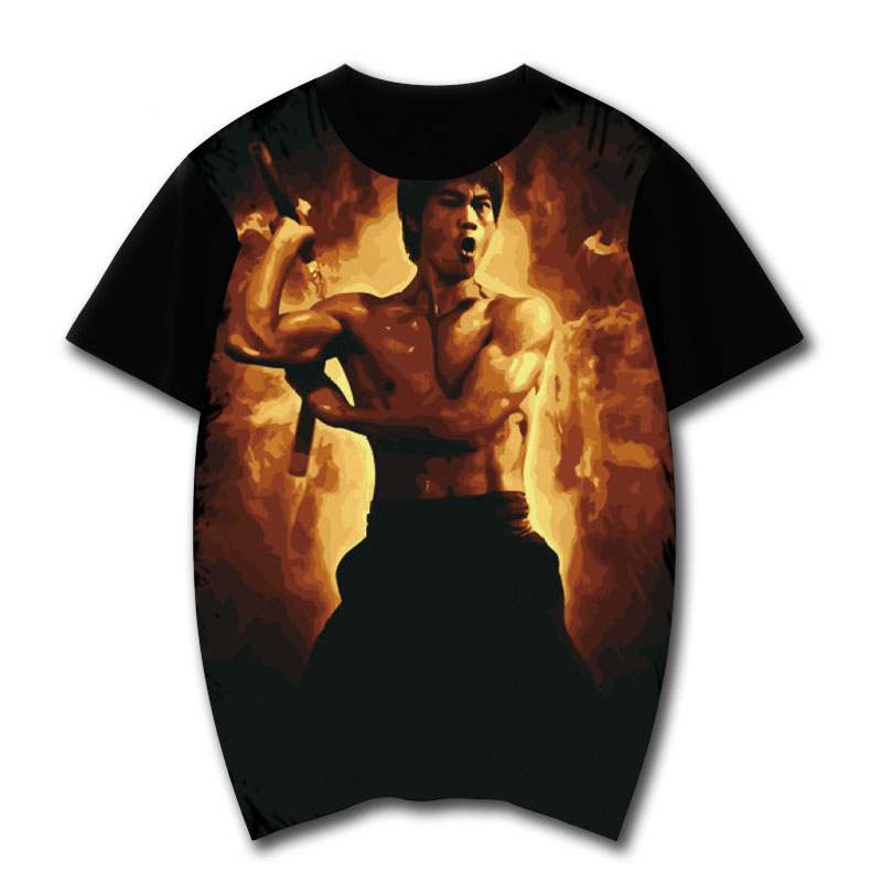 2019 marque T-Shirt hommes mode hommes Bruce LEE & <font><b>IP</b></font> homme Wing Chun Kung Fu T-Shirt ordre hommes T-Shirt image