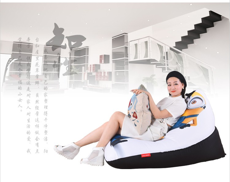 Terrific Us 33 0 40 Off Levmoon Beanbag Sofa Chair Yellow People Seat Zac Comfort Bean Bag Bed Cover Without Filler Cotton Indoor Beanbag Lounge Chair In Spiritservingveterans Wood Chair Design Ideas Spiritservingveteransorg