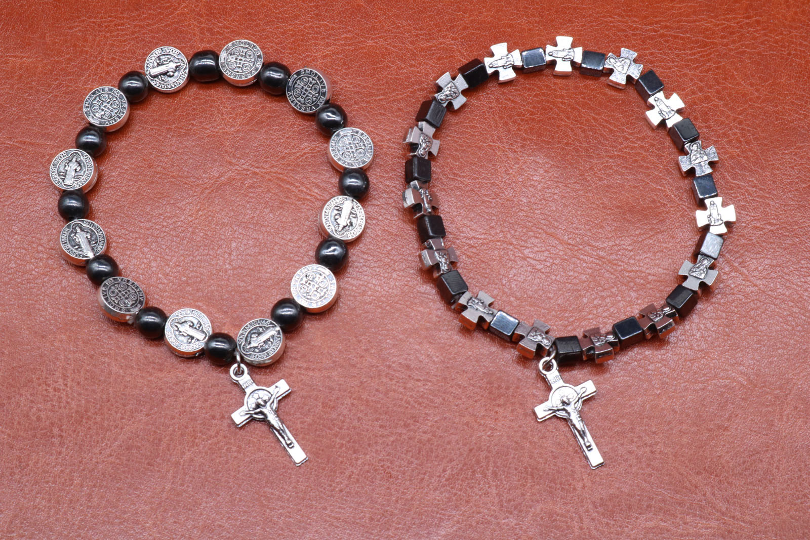 Religion The beautiful bracelet made by 6MM black gallstone and ...