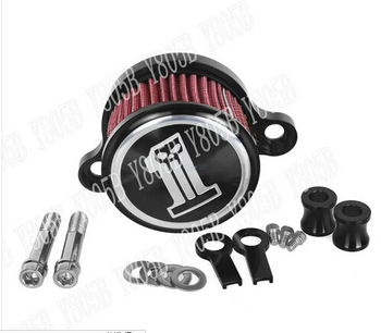 Air Cleaner Intake Filter System Kit For Harley Davidson Sportster XL883 XL 1200 48 2004 -2015 #1 #1 Harley-Davidson Sportster