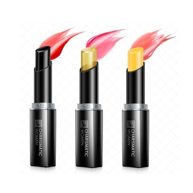 2019 crema hidratante transparente temperatura lápiz labial maquillaje flor mágica que cambia de Color de larga duración de lápiz labial Kit cosmético