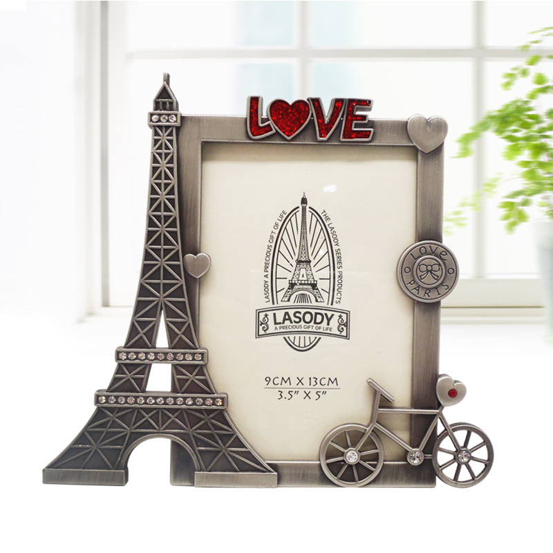 New Arrival Lovely Paris Tower Photo Frame Fashion Luxury
